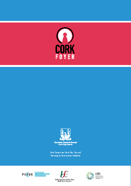 Cork-Foyer-Annual-Report-2015 front page preview