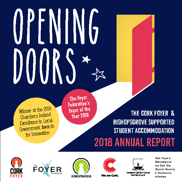 Cork-Foyer-Annual-Report 2018 front page preview