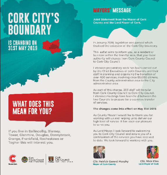 Boundary Change Newsletter (English) front page preview