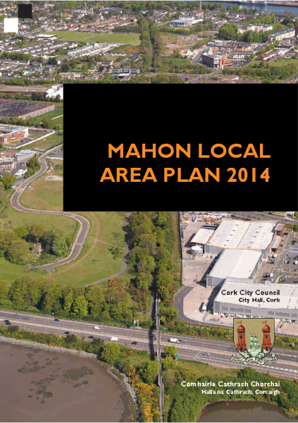 Mahon Local Area Plan 2014 front page preview