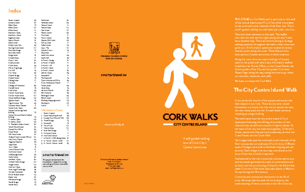 Cork City: Central Island Walk front page preview
